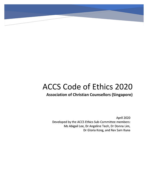ACCS Code of Ethics Review Copy 2020_V.2