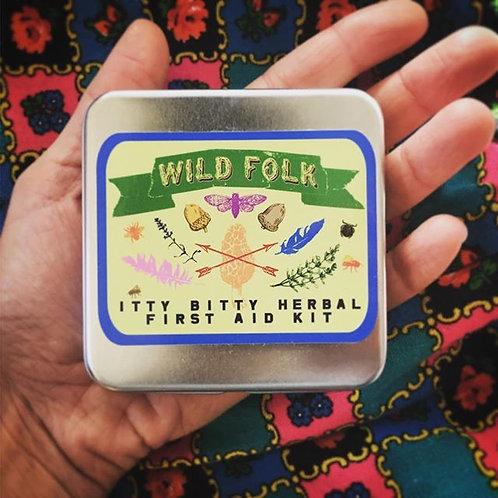 Pocket Herbal First Aid Kit