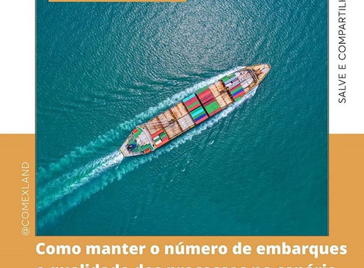 Como manter os embarques e a qualidade dos processos em época de crise.