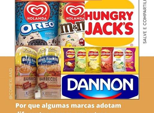 Por que algumas marcas mudam de nome quando se internacionalizam?