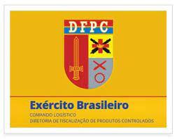 Exército Brasileiro e Diretoria de Fiscalização de Produtos Controlados.