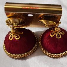 Brown Jhumkha
