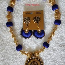 Ink Blue - Gold Set