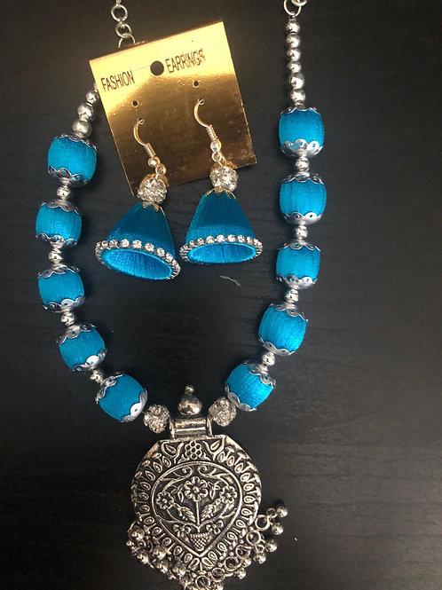 Blue - Silver Set