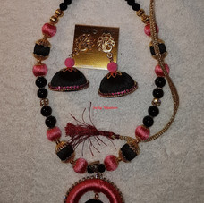 Black-Pink Set