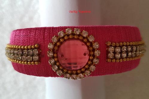 Pink Kada Bangle