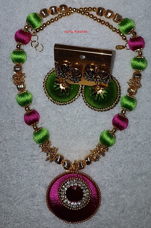 Pista Green and Rose Set