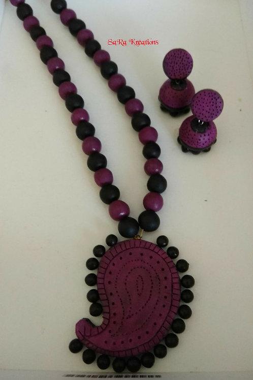 Purple - Black Set