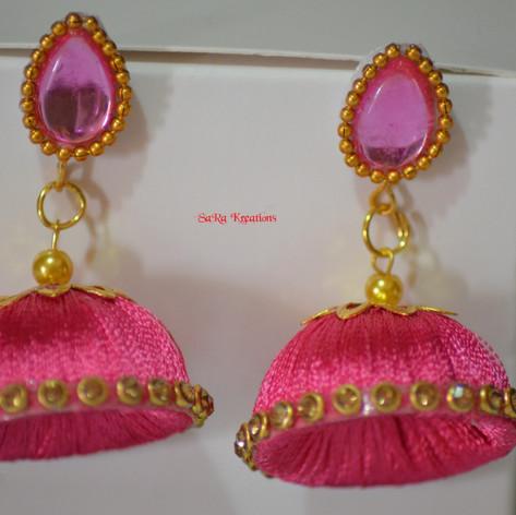 Pink Jhumkha