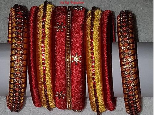 Red - Yellow Bangles