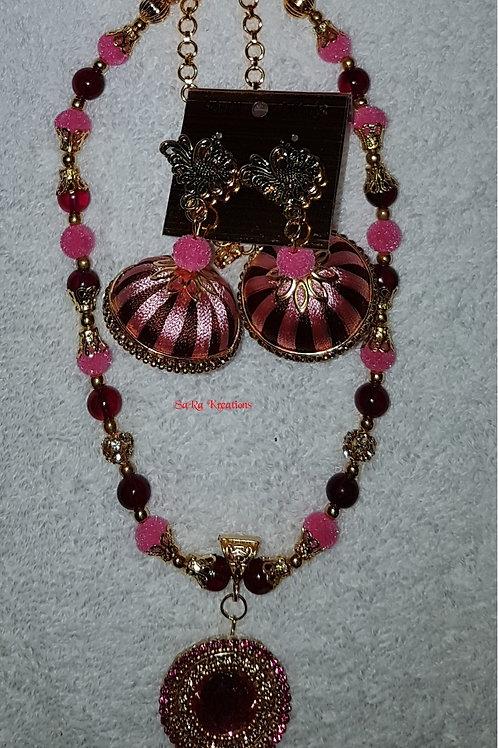 Brown - Pink Set