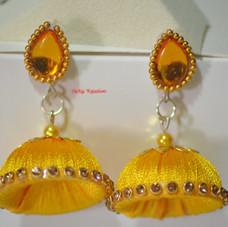 Yellow Jhumkha