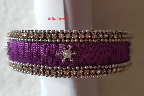 Lavendar Kada Bangle