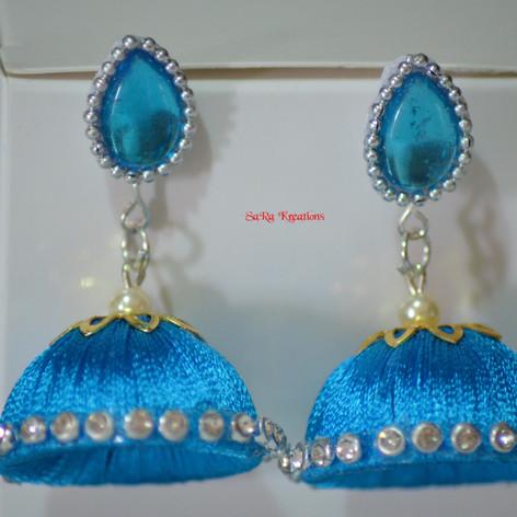 Blue Jhumkha