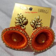 Orange Jhumkha