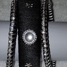 Black and Silver