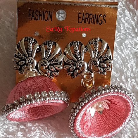 Light Pink Jhumkha