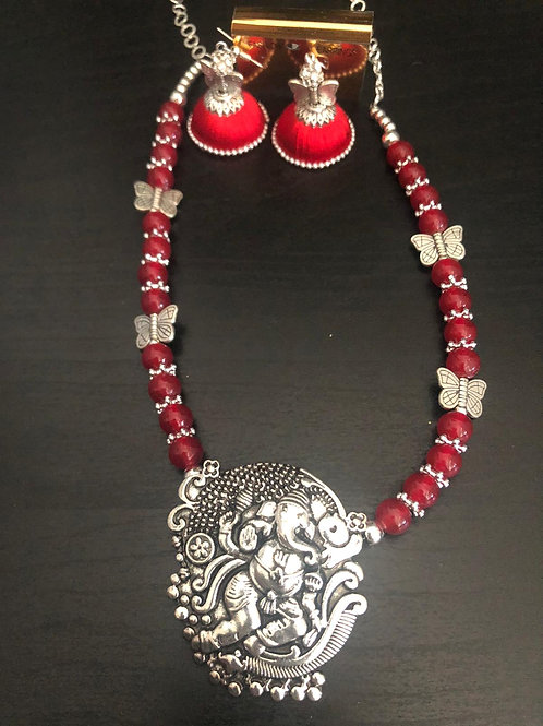 Red - Silver Set