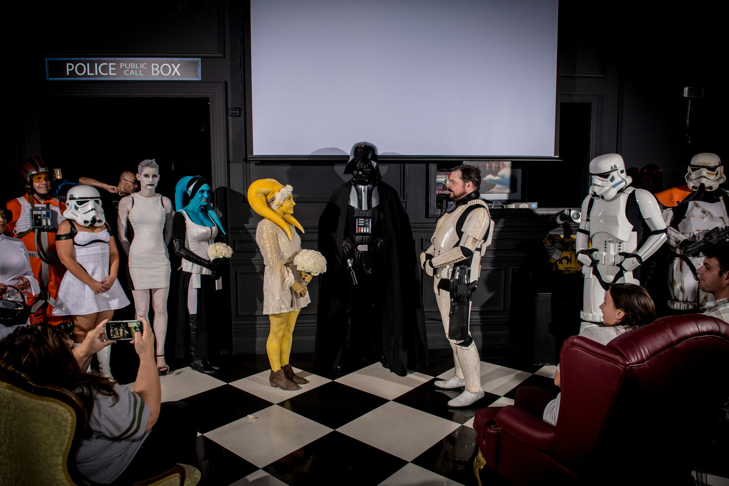 Starwars Themed Wedding
