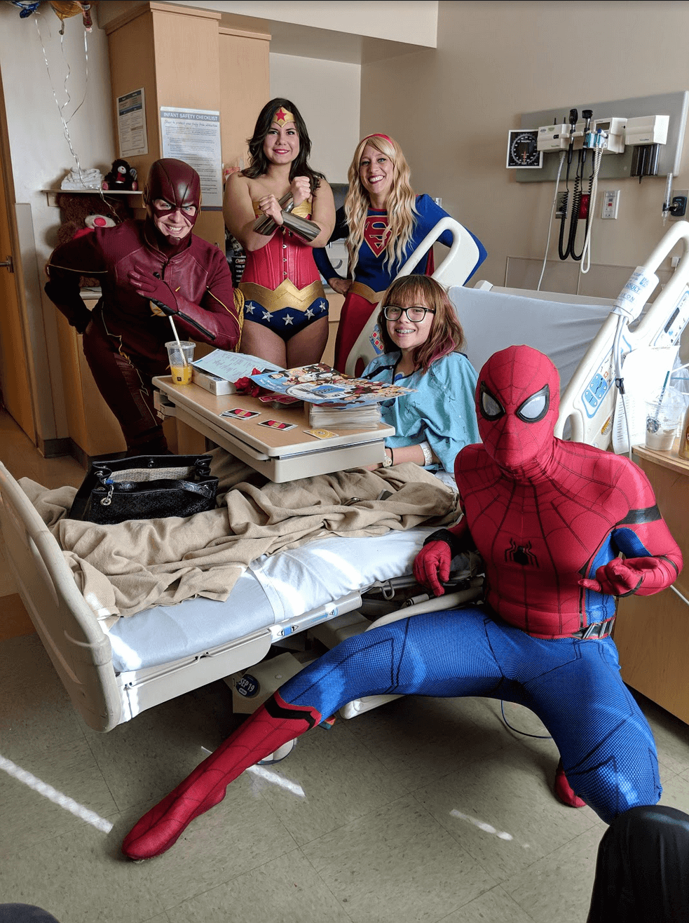 Critical Care Comics visit at a Hospital