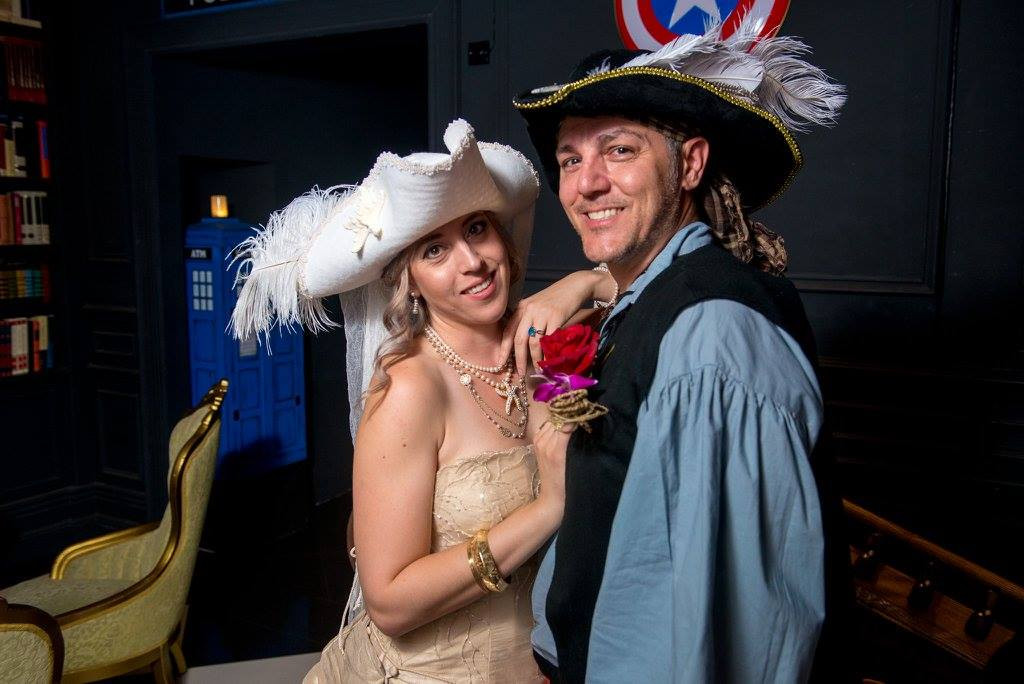 Pirate Themed Wedding - Couple