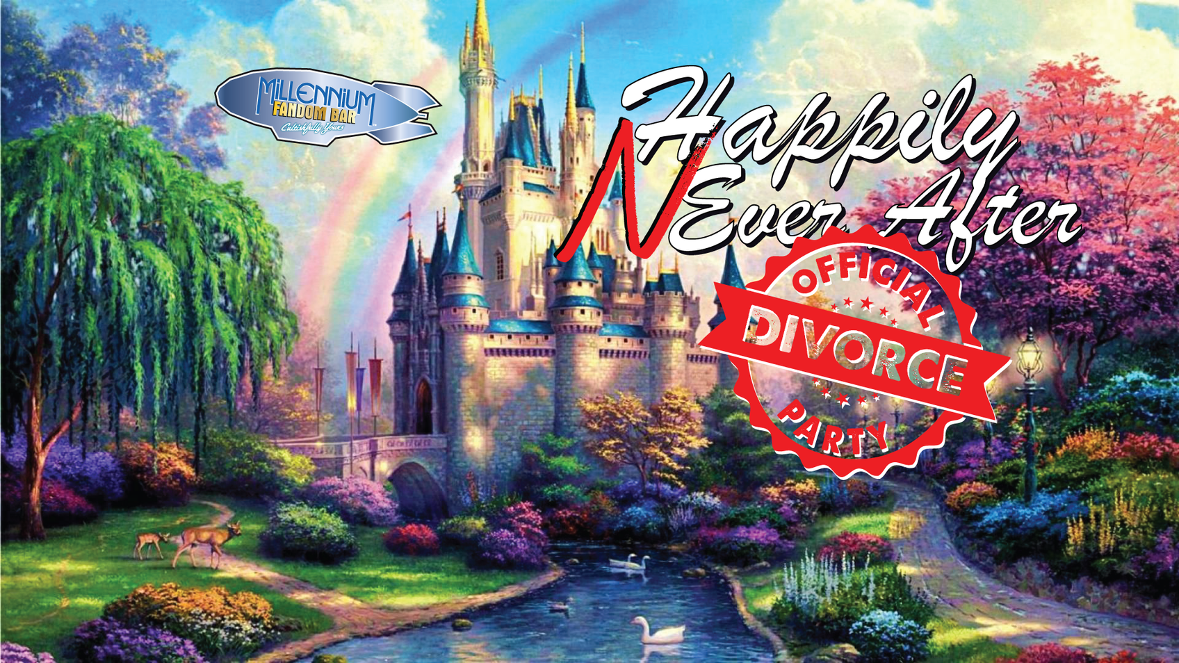 Divorce Party - Happy Never After!
