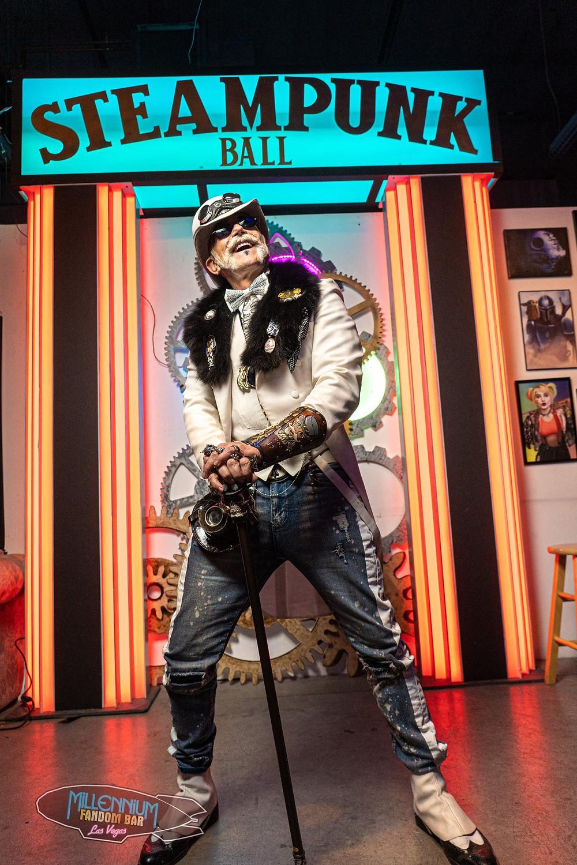 Doc Phineas at The Millennium Fandom Bar's 5th Annual Steampunk Ball (2-15-2020)