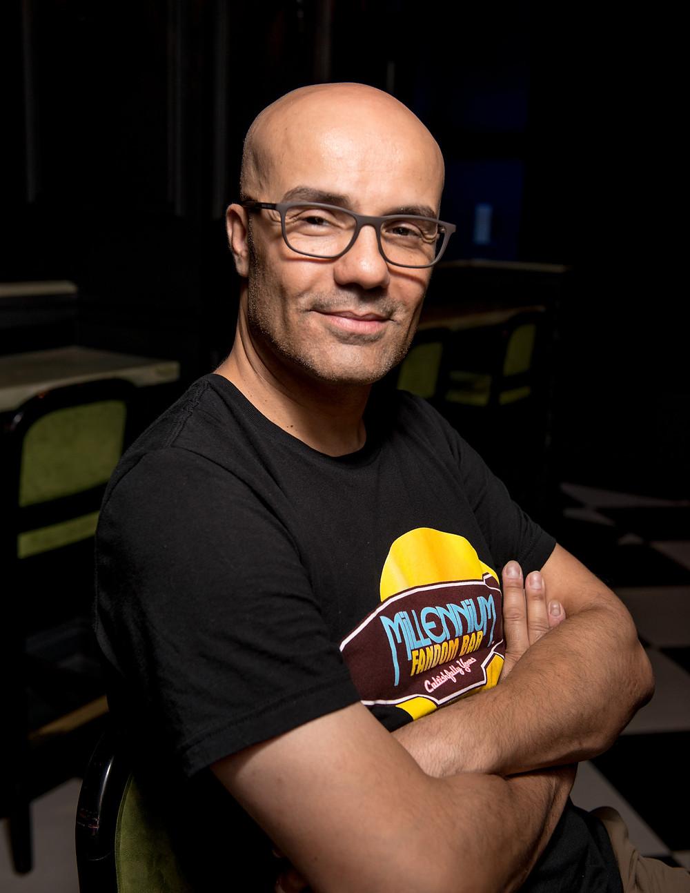 Alex Pusineri, Founder & Owner of the Millennium Fandom Bar, Las Vegas, United States of America, at Your Fandom Service!