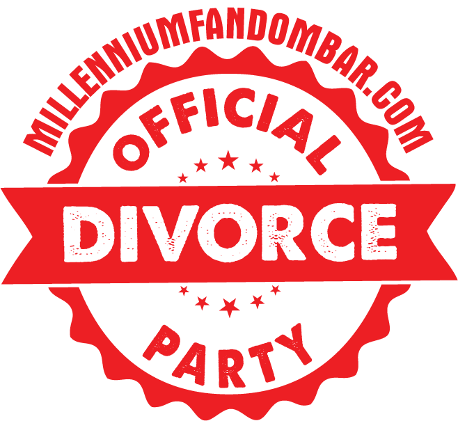 Millenium Fandom Alt Logo for Divorce Party
