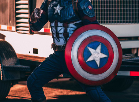 Captain's bLog 042020.7 : Happy Independence Day with Captain America!