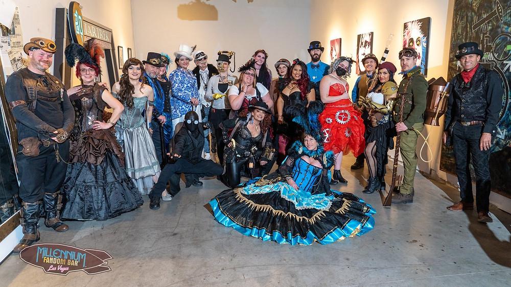 The Millennium Fandom Bar's 5th Annual Steampunk Ball (2-15-2020)