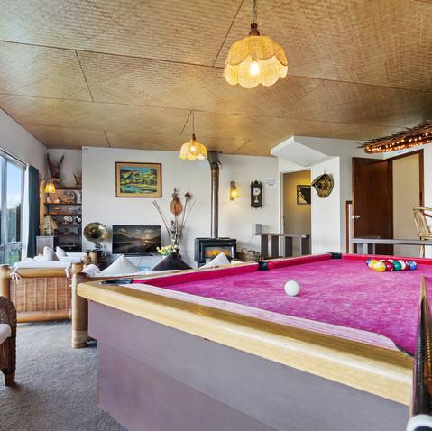 Pool Table & Games Room