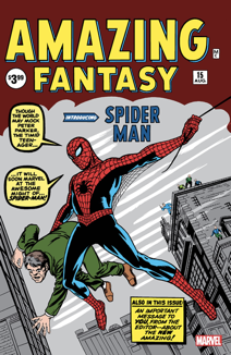 Captain's bLog - Amazing Fantasy #15 - The first-appearance of Spider-Man!