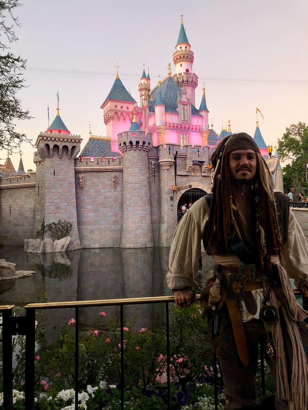 Captain Jack, guest blogger for the fandombar.com Community bLog: Disneyland's 65th Anniversary by Captain Jack!