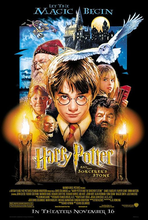 Harry Potter and the Sorcerer's Stone (2001 first movie)