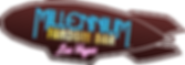 Millennium Fandom Bar, Las Vegas Logo (Text overlayed on Fandom Blimp)
