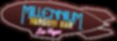 Millennium Fandom Bar, Las Vegas Logo (Text overlayed on Fandom Blimp)