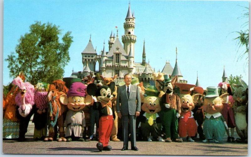 Disneyland in Anaheim, California, opened on July 17th, 1955
