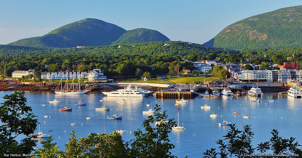 Charter a Jet to Bar Harbor