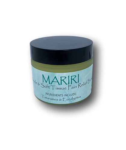 MĀRIRI - Muscle and Pain Relief Balm