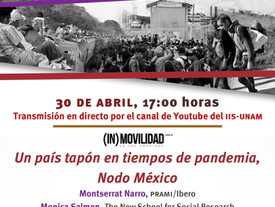 Próximo Conversatorio un país tapón en tiempos de pandemia Nodo México
