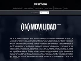 Presentación Del Proyecto Covid-19 E (In) Movilidad En Las Américas. 25 de junio de 2020
