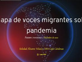 """Un mapa de voces migrantes sobre la pandemia""."