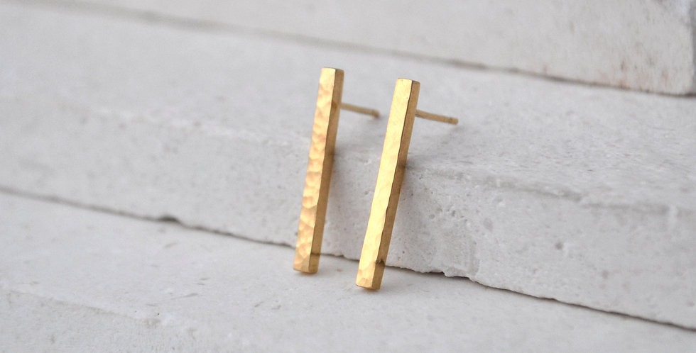 Flicker Bar Studs - Gold