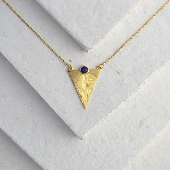 Triangle Sunbeam Pendant