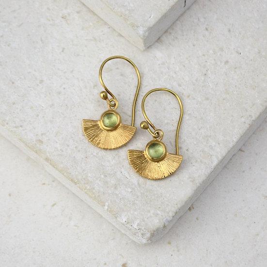 Mini Sunbeam Earrings