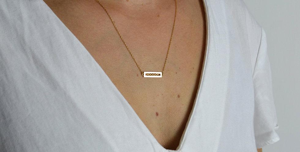 Filigree Pendant - Gold Vermeil