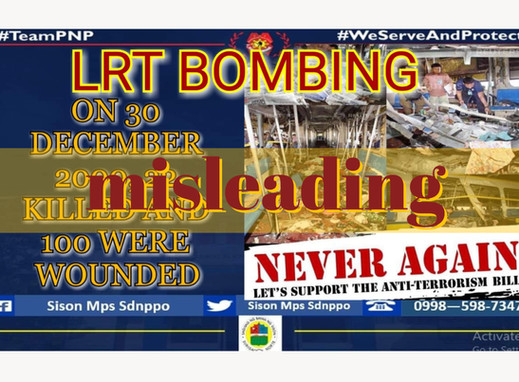 Anti-terror bill propaganda misstates LRT bombing stats