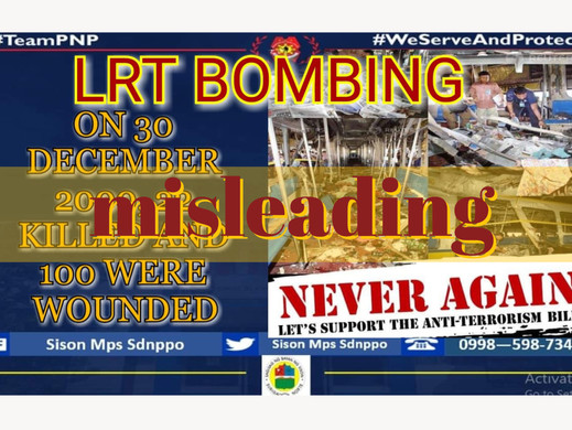 Anti-terror bill propaganda misstates LRT bombing stats