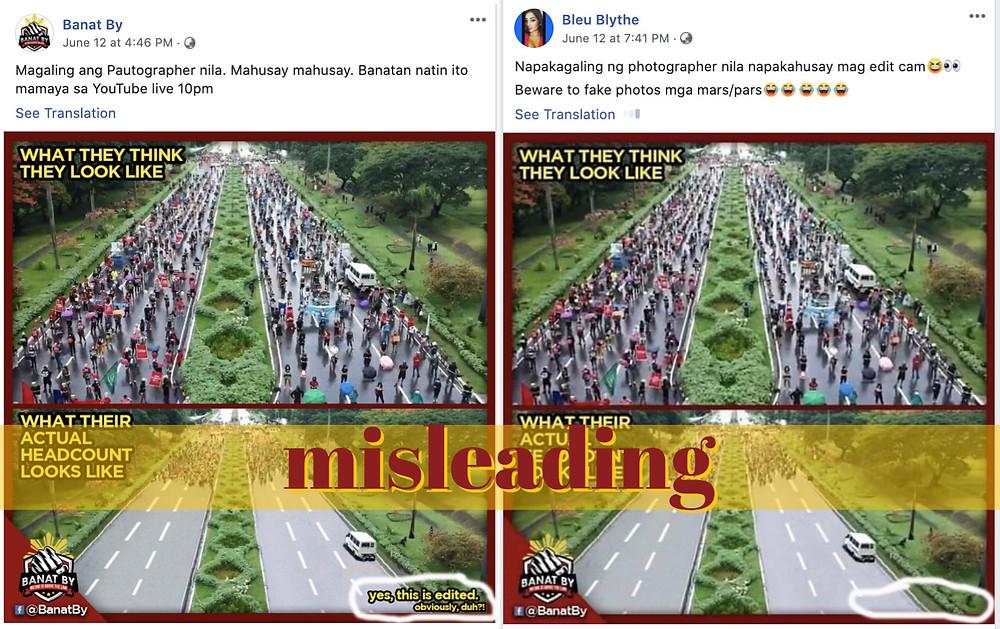 Manipulated photo of Independence Day mananita